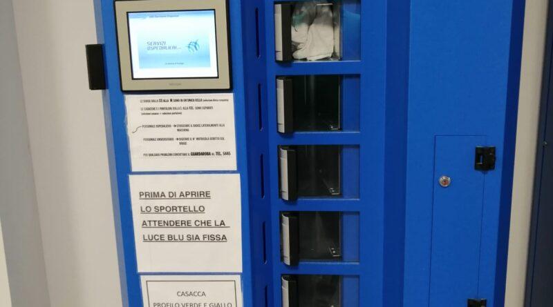 Distributori automatici delle divise
